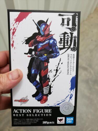 Figuarts Kamen Rider Build Rabbit Tank form figure Bandai Best Selection S.H