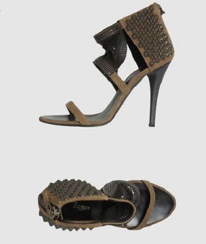 Nuevo En Caja Giuseppe Zanotti Diseño pour Balmain tachonado Sandalias