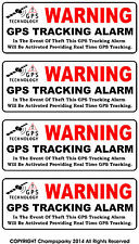 Back Adhesive GPS Tracking Alarm Security Anti Theft Decal Sticker Auto Boat RV