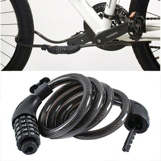 Five-digital Codes Password Bike Anti-theft Safety Steel Wire Cable Bicycle Lock