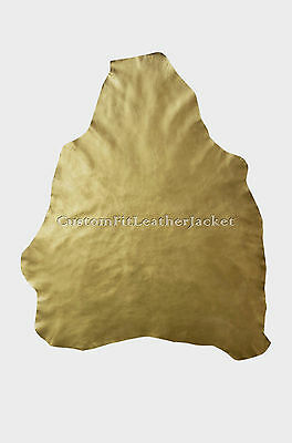 New Gold Craft Garment Quality Real Leather Sheep Lamb Nappa Skins 0.6 to 0.7 MM