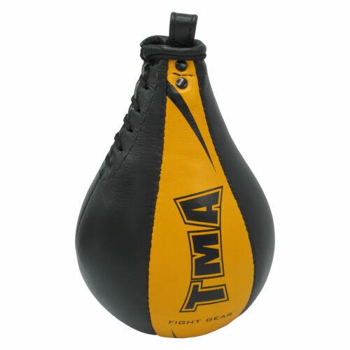 TMA Original Leather Speed Bag Punching Ball Training MMASpeed Ball U