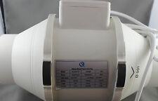 Item 3 10 X 100mm INLINE FAN BATHROOM EXHAUST VENTILATION HYDROPONICS 2  SPEED  10 X 100mm INLINE FAN BATHROOM EXHAUST VENTILATION HYDROPONICS 2  SPEED
