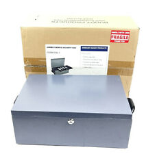 15 Sandusky Buddy Products Jumbo Cash Amp Security Box Tray Amp Keyes New Open Box