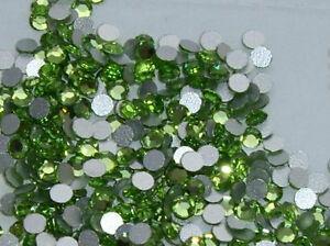 Swarovski ® - 100 Pz 2000 - Ss 6 Mm. Peridot Original Superior Silver Foiled Joqvvyog-07233715-995877489