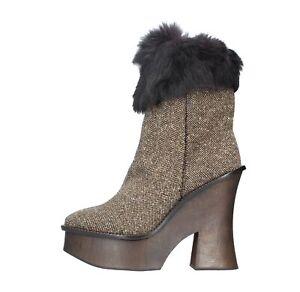 Paloma Amf37 palo Multicolore Aux Bottes Chaussures Barcelᄄᄚ femmes JF1TKcl
