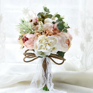 Fiori Matrimonio Rustico : Fiori matrimonio sposa bouquet esterno rustico spilla handmade