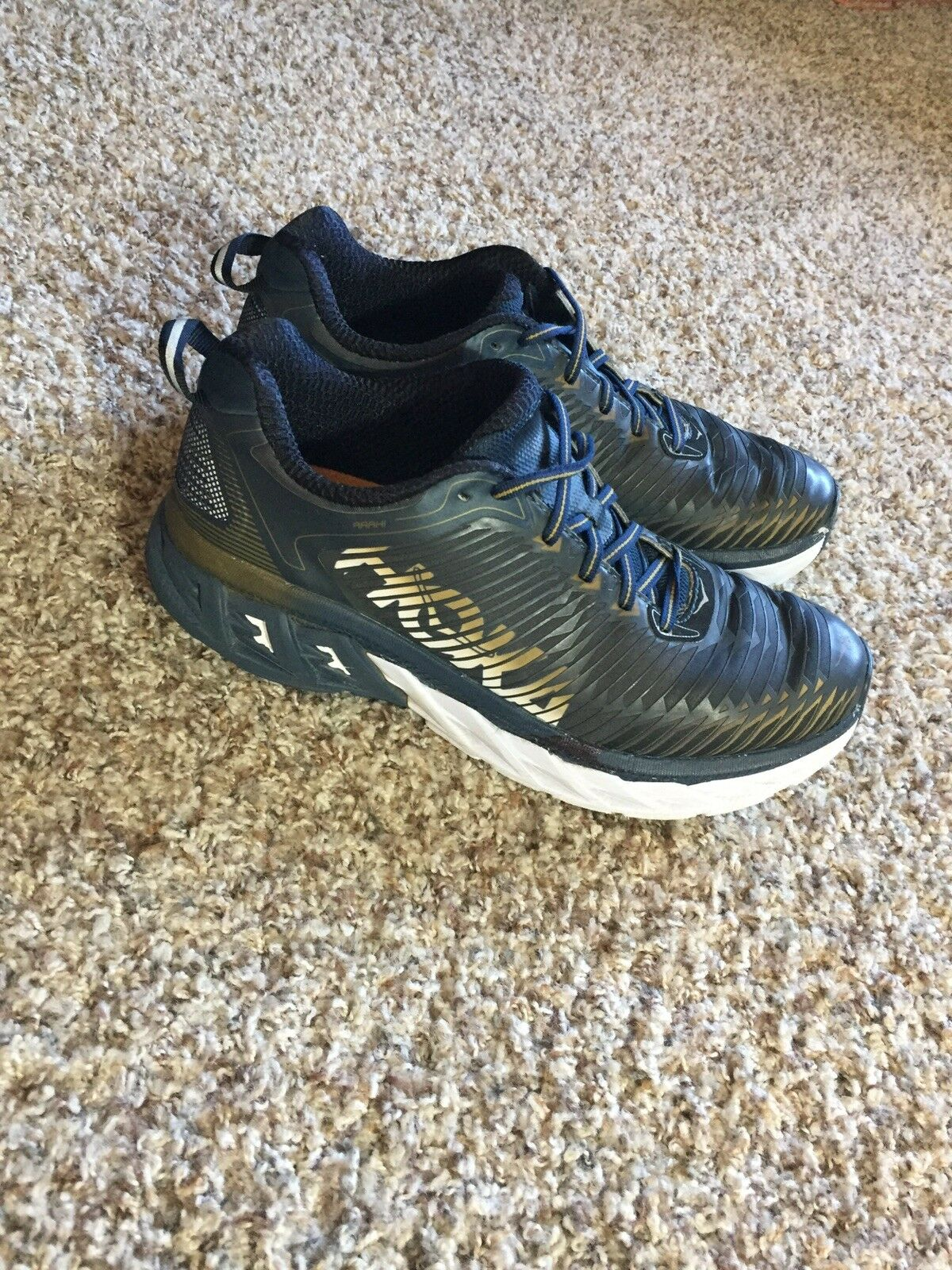 Hoka One One hommes 's noir Running Chaussures 8.5M