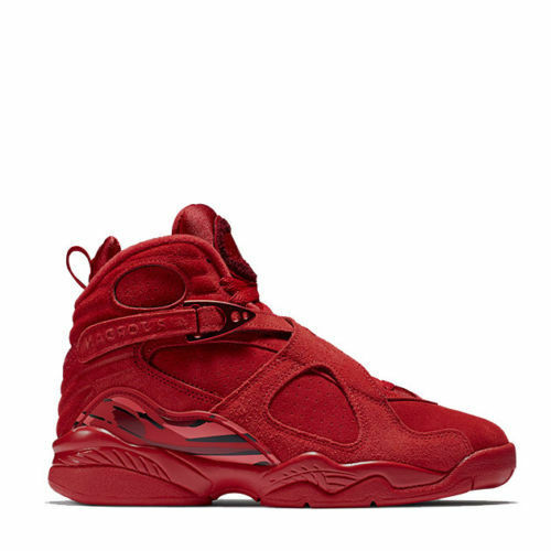 Air Jordan 8 VIII Retro Valentines Day Red Comfortable best-selling model of the brand