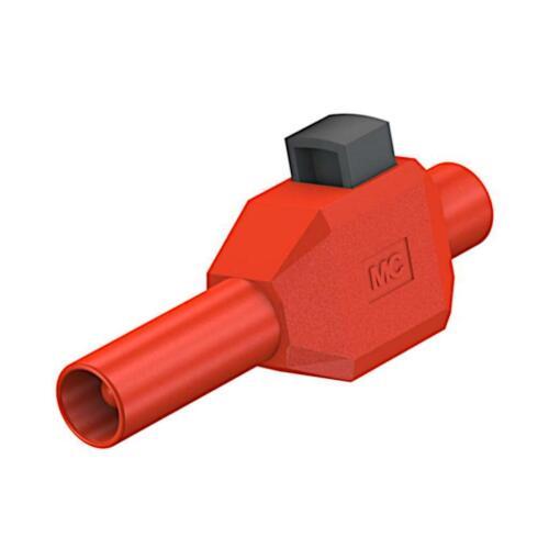 Stäubli Skls 4 rouge connecteur 4 mm 10 A 600 V lamelles connecteur 22.3007-22 860632