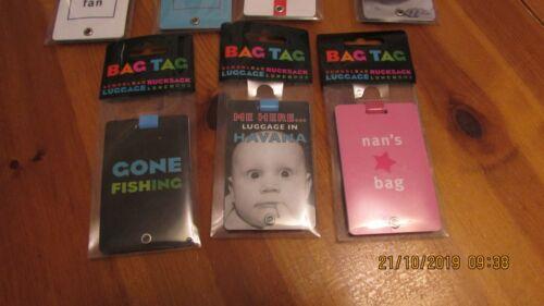 Sac Tag bagages Identité étiquette Avec Boucle St George/'s Flag Angleterre Cadeau
