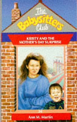 """""""AS NEW"""" Kristy and the Mother's Day Surprise (Babysitters Club Series), Martin,"""