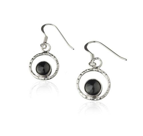 Silver Black rings lava pearl earrings Made in Iceland