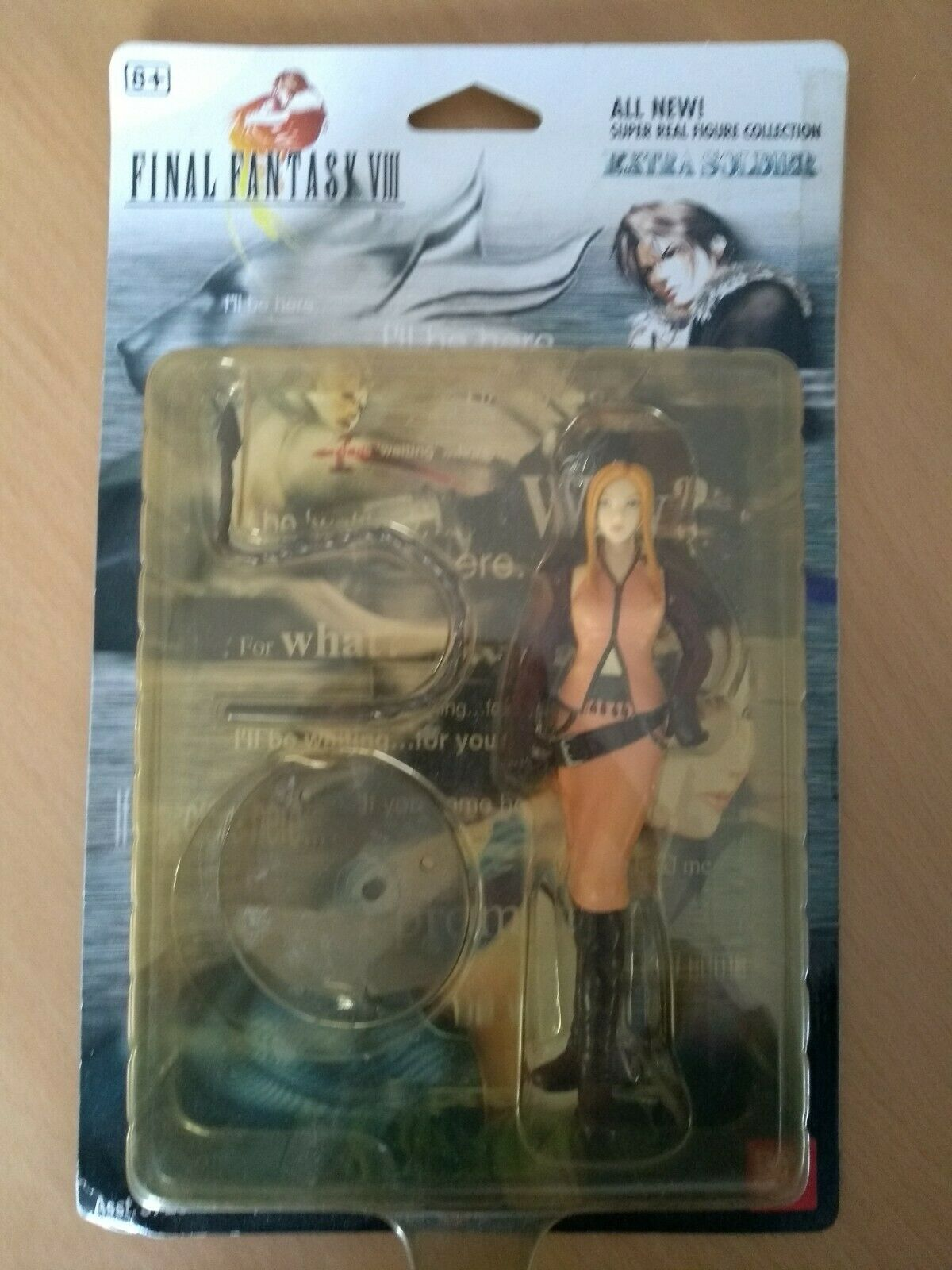 Final Fantasy VIII Extra Soldier  Quistis Trepe Character Figure Figure Figure Neu & OVP a1fea6