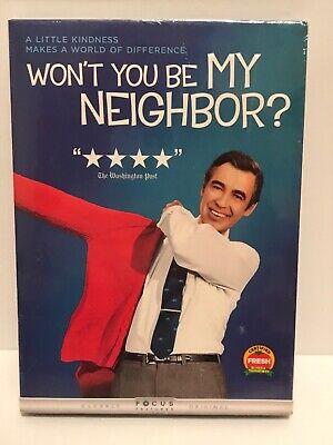 Won T You Be My Neighbor Dvd Rotten Tomatoes Certified Fresh 191329052181 Ebay