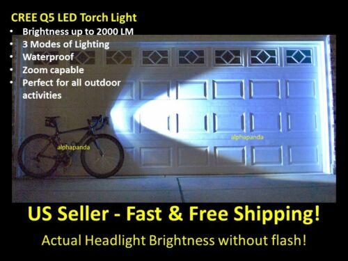 Waterproof LED Bike Lights Set Headlight Caution Bicycle Light Flashing Blinking