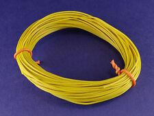 PVC Litze/Kabel 0,08mm² 10m Dünn Gelb Made in Germany