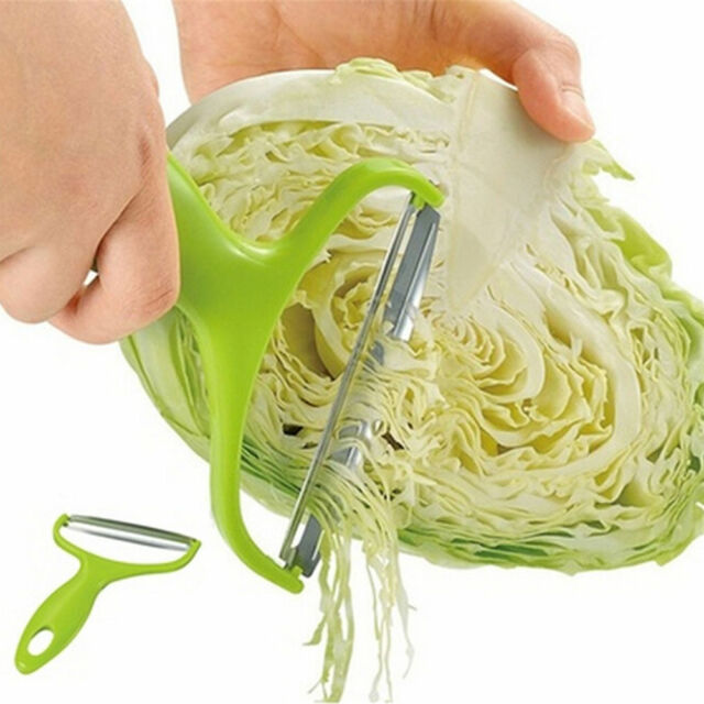 Kitchen Tool Vegetable Fruit Peeler Cabbage Grater Cutter Slicer Stainless Steel
