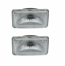 2 Left+Right Fog Light Lens Set fits Bmw E12 E21 E28 E30 63211468127 Pair Kit