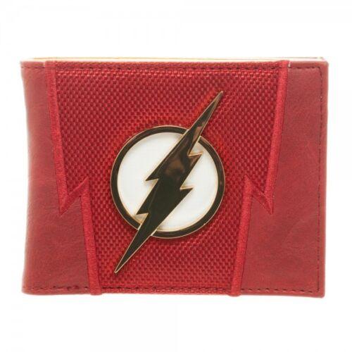 The Flash Suit Up Bi-Fold Mens Wallet Boxed DC Comics Uniform Costume Bolt NEW!