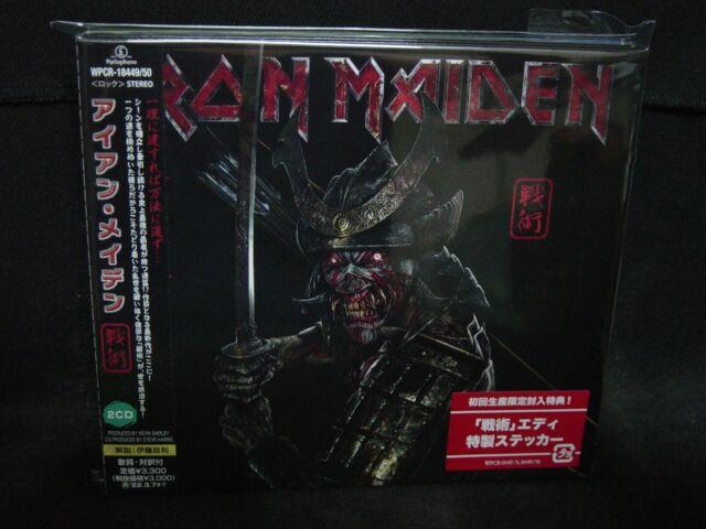 IRON MAIDEN Senjutsu JAPAN 2CD Samson ASAP White Spirit Urchin Trust Gillan