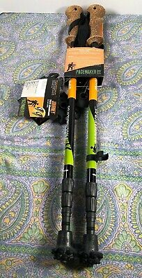"""Pair of PaceMaker Stix /""""Journey/"""" Trekking Poles with  Attachments."""