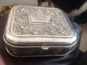 Silver Plated Jewelry Box by International Silver Company eBay