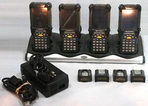 LOT-Symbol-Motorola-MC9090-SK0HJAFA6WR-Wireless-2D-Imager-Barcode-Scanner-MC9090