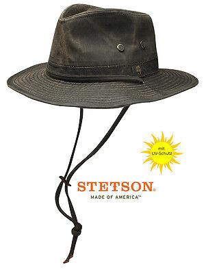 Stetson Diaz Wanderreiter Hut UV-Schutz Outdoorhut Hüte Wanderhut