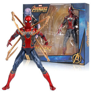 "New Spider-Man Marvel Avengers Legends Comic Heroes Action Figure 7"" Kids Toys"