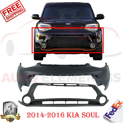 Make Auto Parts Manufacturing Front Lower Bumper Cover Textured Plastic For Kia Soul 2014 2015 2016 KI1015104