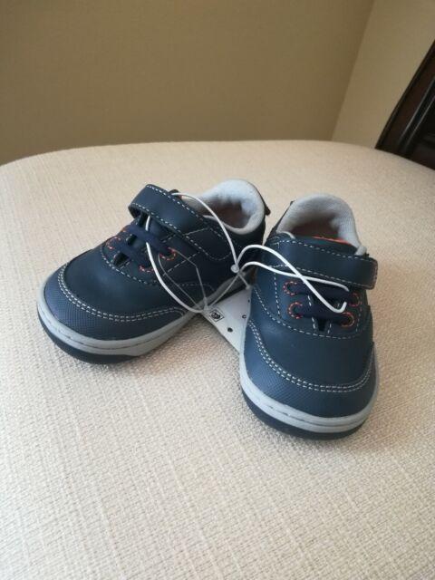 ea9508ea9d96 Surprize by Stride Rite Navy Blue Toddler Boy Shoes Size 5 Memory ...
