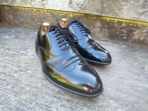 HARRY-S-OF-LONDON-OXFORD-SHOES-BLACK-CALF-UK-6-5-EXCELLENT-CONDITION