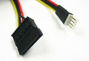 4 Pin Floppy Fdd To Sata Power Converter Adapter Cable