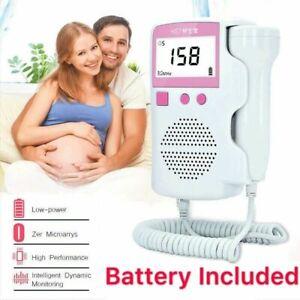 Baby-LCD-Detecteur-a-ultrasons-Fetal-Doppler-Prenatal-Heart-Rate-Heartbeat-Monitor