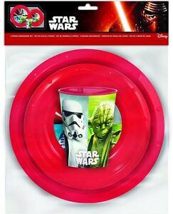 Disney-Star-Wars-039-3-Stueck-Mehl-Set-039-Abendessen-Legen-Neue-Geschenk