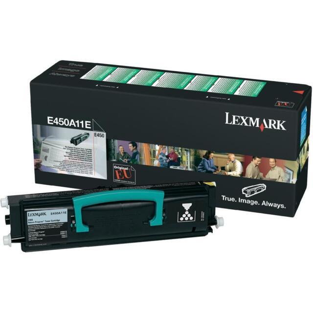 Original Lexmark E450A11E Toner Black Black E450 New B
