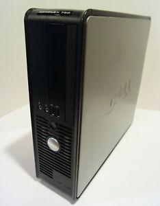 Dell Optiplex 760 PC Desktop (Intel Core 2 Duo 2.80GHz 4GB 160GB Win 10 Pro)