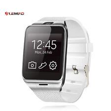 Lemfo Bluetooth GV18 Deporte SIM TF Tarjeta Reloj Inteligente Para IOS Android