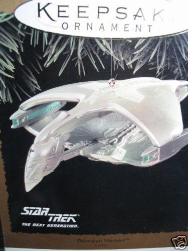 Hallmark Ornament 1995  ROMULAN WARBIRD Star Trek   MIB
