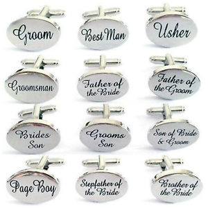 Wedding Cufflinks Engraved Stepfather of The Bride Cuff Links Anniversaty Party Accessories Gift