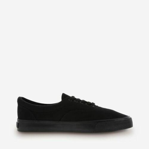 Airwalk Youth Rio Black Casual Shoes Canvas Sneakers Medium Width