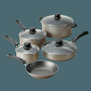 Cookware-Set-9-Piece-Pots-And-Pans-Kitchen-Non-Stick-Cooking-Stainless-Champagne