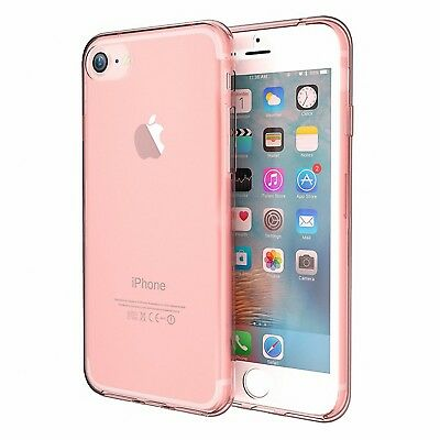 Full TPU Case für Apple iPhone Schutz Hülle Handy Tasche Transparent Cover Neu