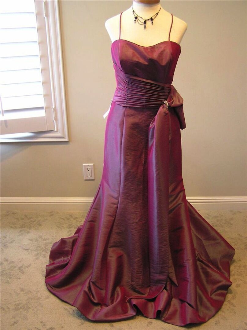 NWT LANDA pageant formal evening social cruise occasion cocktail dress BERRY 10