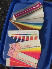 Pantone Color Guide Book Chart Coated Text Amp Cover Dayglo Lot