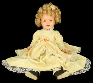 VINTAGE-1930-039-S-IDEAL-SHIRLEY-TEMPLE-18-034-SLEEPY-EYE-COMPOSITION-TOY-DOLL