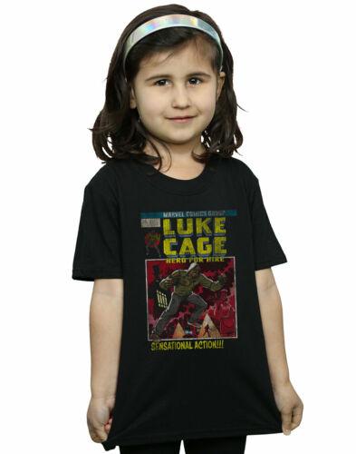 Ragazze Marvel LUKE CAGE EFFETTO ANTICATO DA TE t-shirt