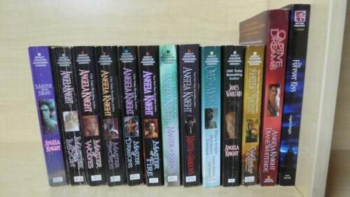 ANGELA KNIGHT LOT OF 13 BOOKS MAGEVERSE SERIES 18 + MASTER OF THE NIGHT +