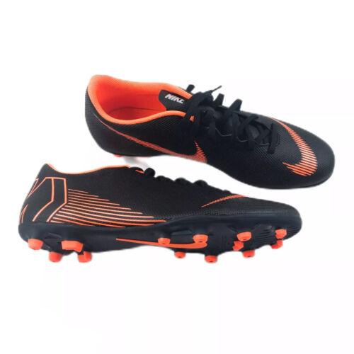 nosotros techo interrumpir  Nike Mercurial Vapor Pro 12 FG Cleats Size 10/11/12 Black-Orange/ AH7378-081